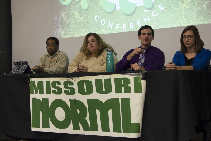 During the 2016 Missouri Cannabis Conference, John Payne (center) talked up the possibility of a medical marijuana ballot initiative in 2018. - PHOTO BY DANNY WICENTOWSKI