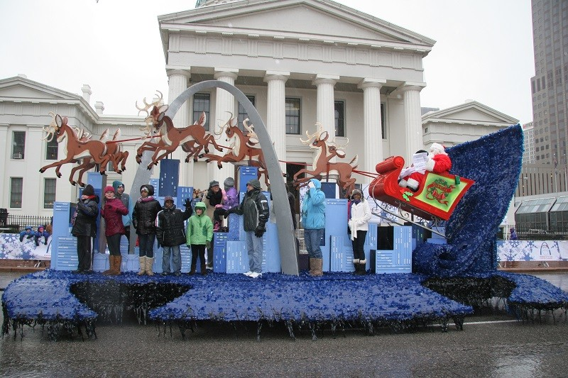 The Thanksgiving Day Parade rolls through downtown on Thursday beginning at 8:45 a.m.
