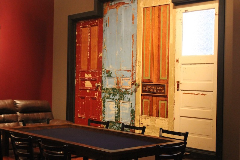 A private room seating 8-10 can be reserved or commandeered if it's empty. - PHOTO BY SARAH FENSKE