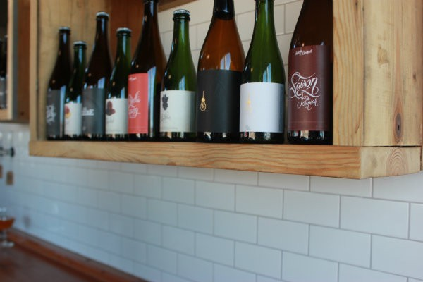 A selection of beers available at Side Project's new tasting room. - CHERYL BAEHR