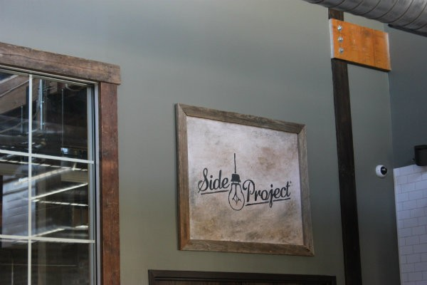 Side Project Brewing's new tasting room is now open. - CHERYL BAEHR