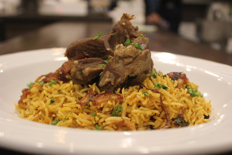 The lamb kabsa. - PHOTO BY SARAH FENSKE