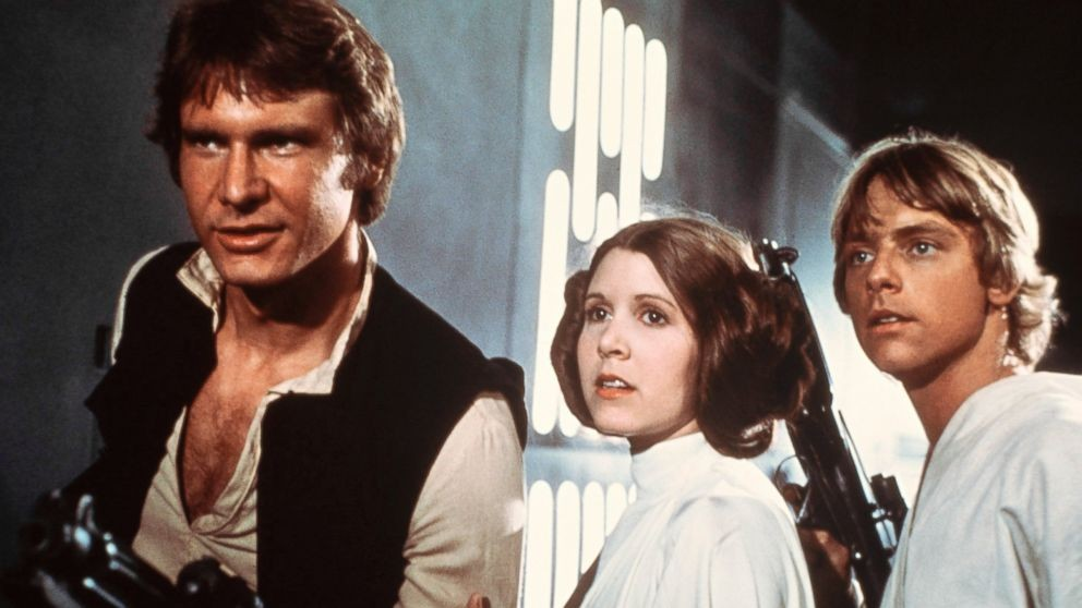 Carrie Fisher, RIP.