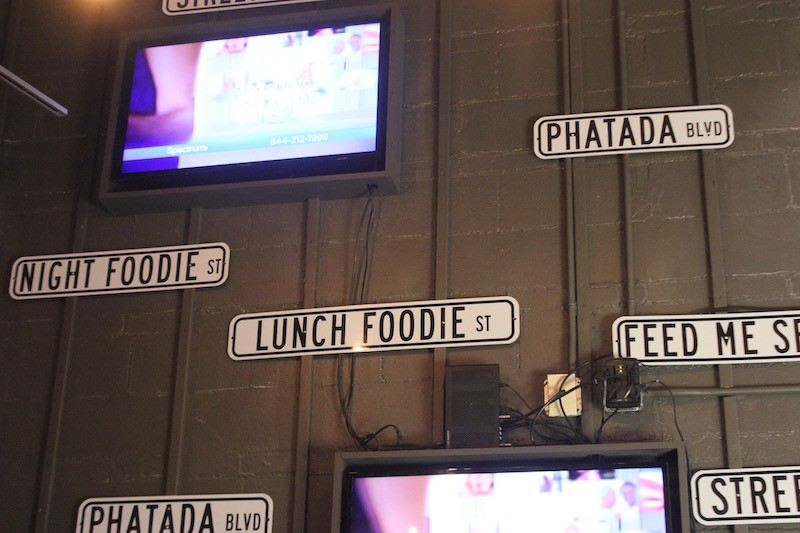 "The ""phatada"" is a key part of Crave's branding. - PHOTO BY SARAH FENSKE"