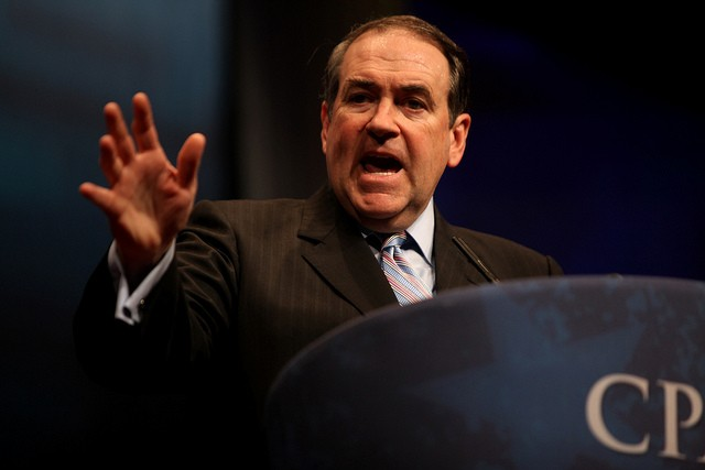 Mike Huckabee. - PHOTO COURTESY OF FLICKR/GAGE SKIDMORE