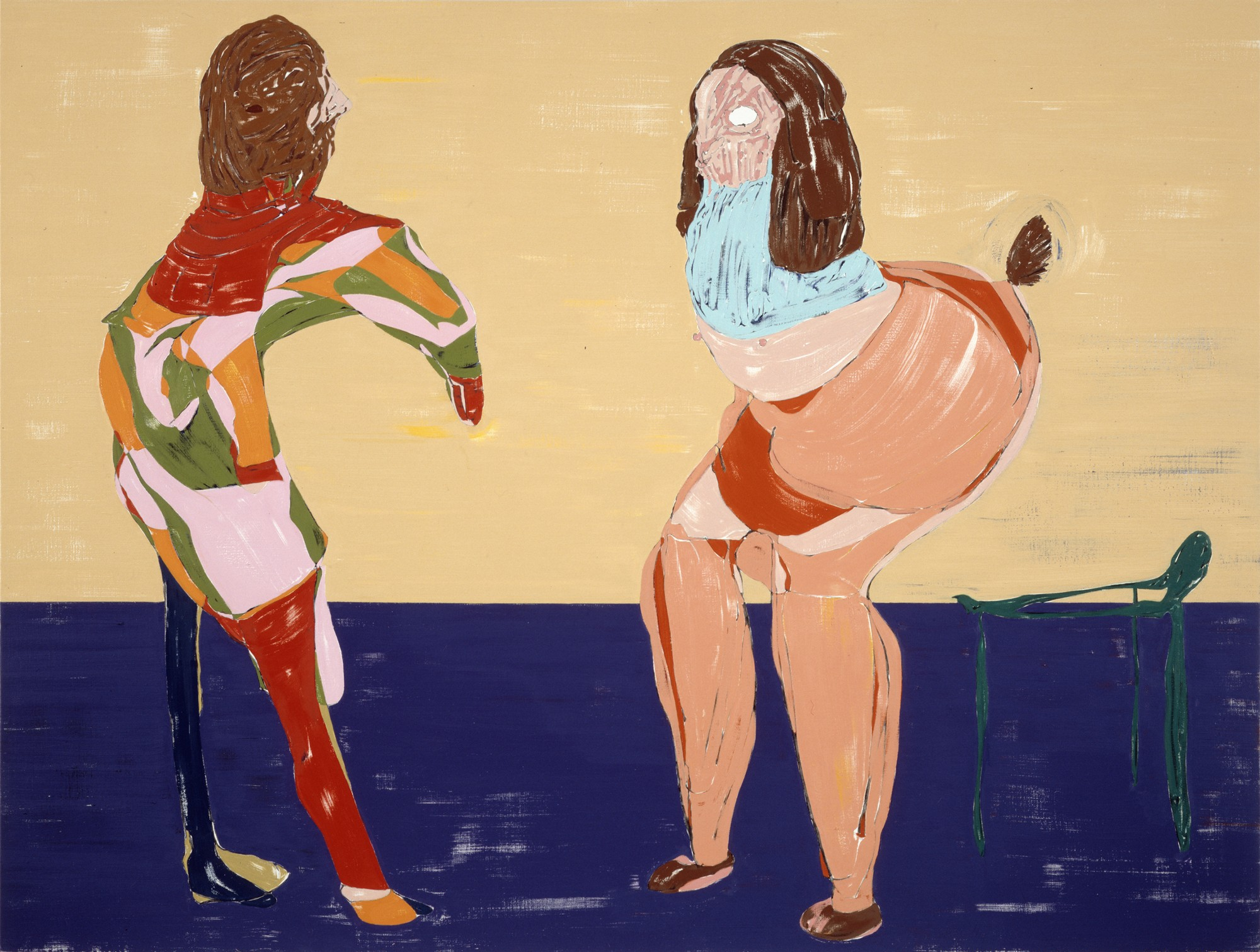 In New Cam Show Nicola Tyson Reimagines The Gaze And The