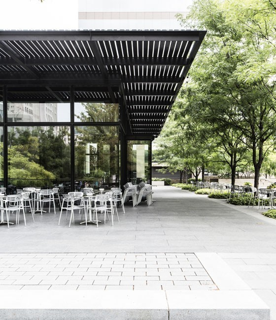 The space at 808 Chestnut Street overlooks CityGarden in the heart of downtown St. Louis. - PHOTO BY JENNIFER SILVERBERG