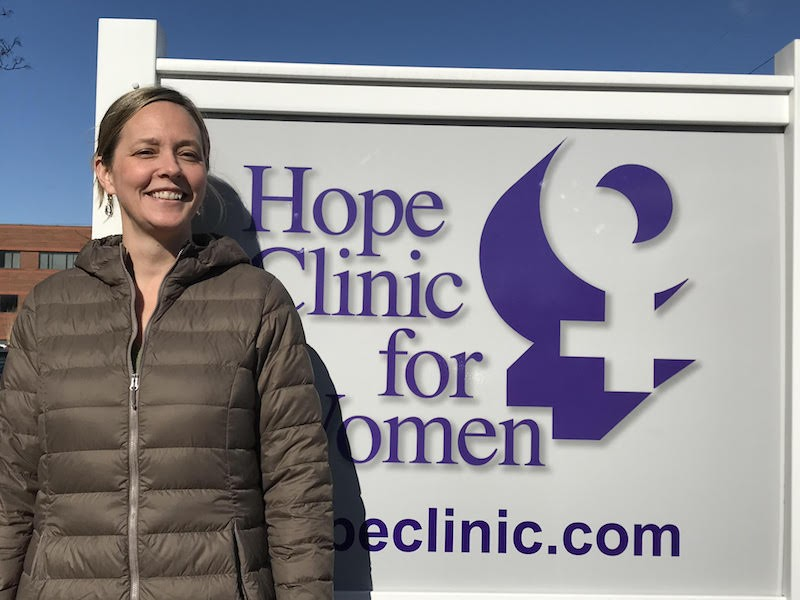 Dr. Erin King is the executive director of Hope Clinic for Women in Granite City, Illinois. - ALISON DREITH
