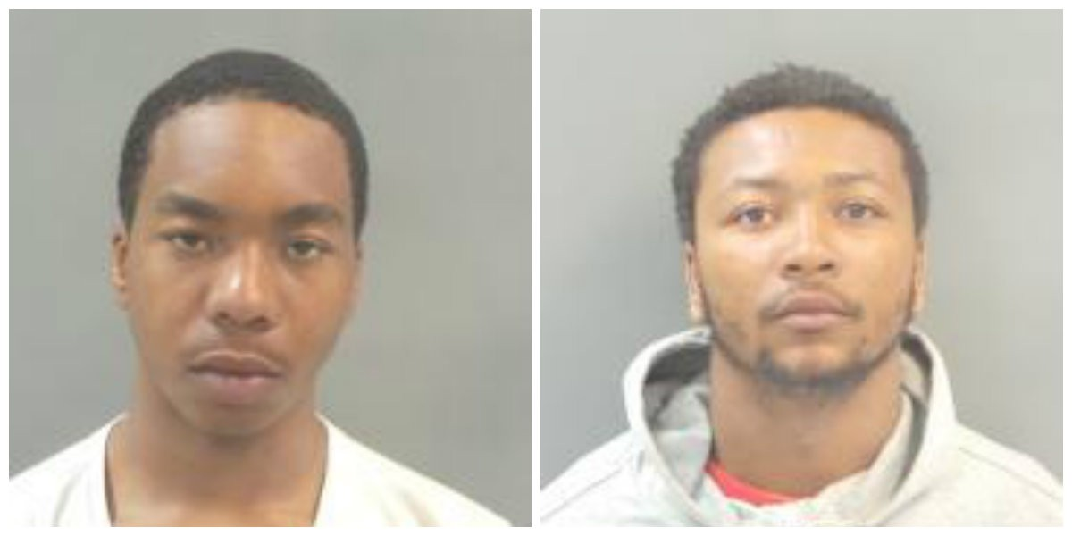 Armani McKinley, left and Antreion Betts are part of a group that terrorized MetroLink riders. - COURTESY OF VINELINK
