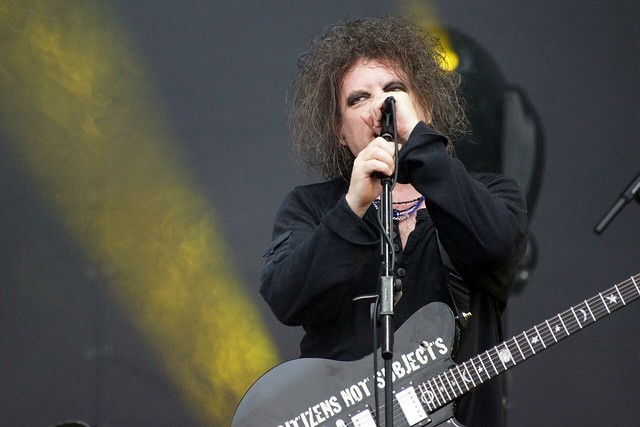 Robert Smith is a god. - PAUL PADSHEWSCKY / FLICKR