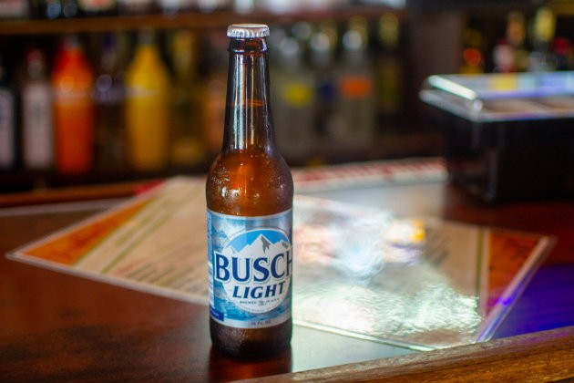 An ice cold Busch Light is always a good decision. - ELLEN PRINZI