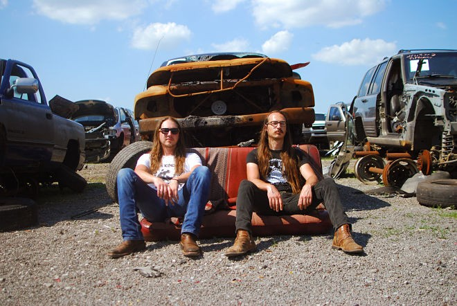 The Maness Brothers will perform at the South Broadway Athletic Club on Saturday as part of the Whiskey War Festival. - ADAM NEWSHAM