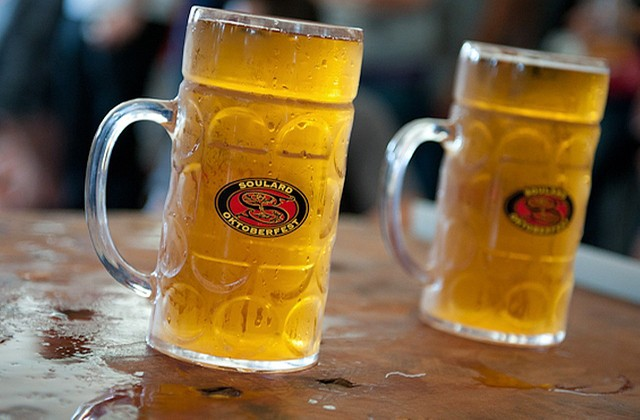 Raise a glass to Oktoberfest! - JON GITCHOFF