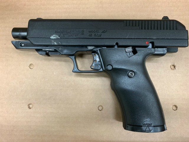 St. Louis County police say this gun was recovered after the shooting. - COURTESY ST. LOUIS COUNTY POLICE