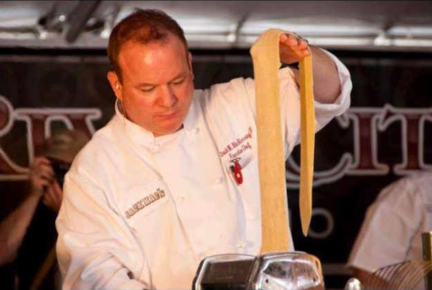Chef Jack W. MacMurray III at WFC Show Me Series Competition - COURTESY OF THE BOATHOUSE