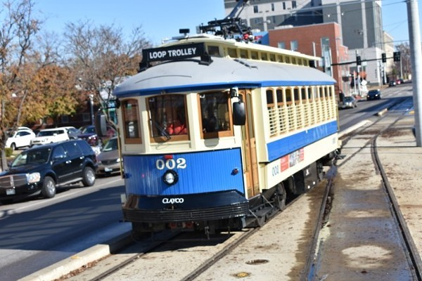Booze goes well with most things, and would certainly mark an improvement for the Loop Trolley. - DANIEL HILL