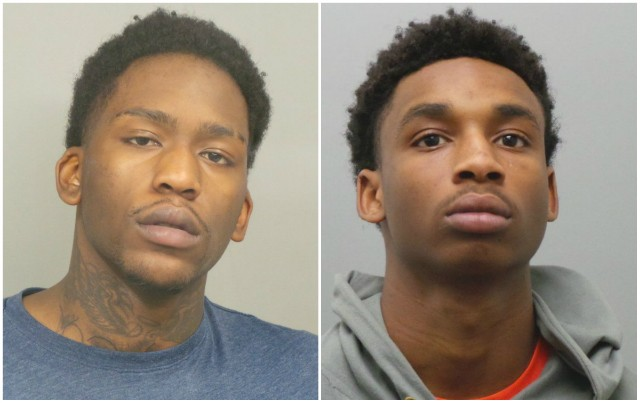 Kelton Rucker (left) and Rasheme Bridges face federal charges. - ST. LOUIS REGIONAL CRIMESTOPPERS