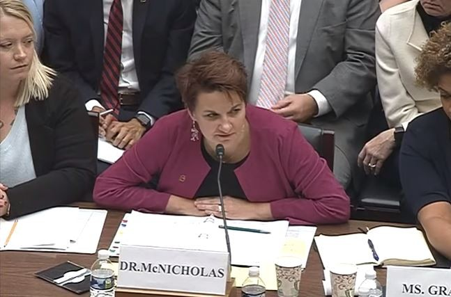 Dr. Colleen McNicholas took the stand last week in Washington D.C. - HOUSE OVERSIGHT COMMITTEE