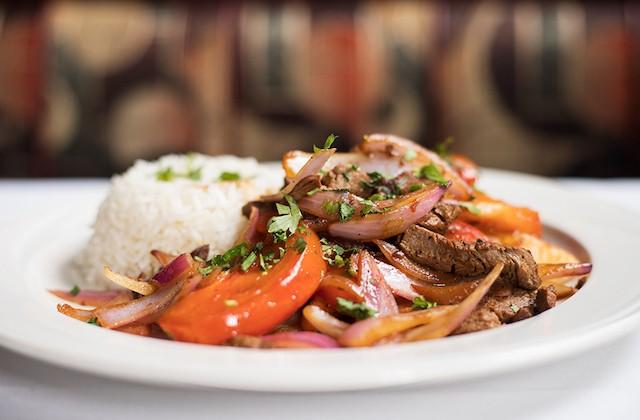 At Cocina Latina, authentic Peruvian food is the focus. - MABEL SUEN