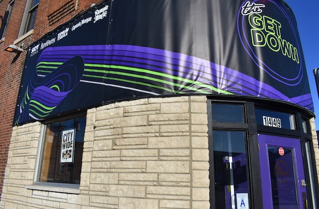 The bar just got its sign up this past Wednesday. - LIZ MILLER