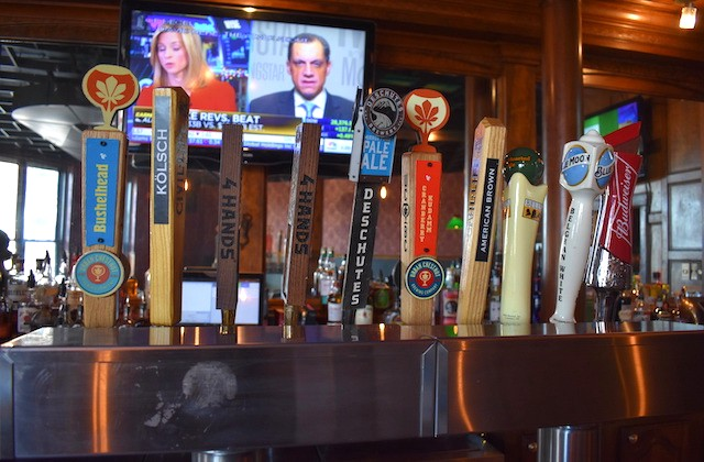 There's plenty of local craft beer served here, too. - LIZ MILLER