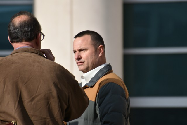 St. Louis police Officer Steve Korte lied to the FBI, prosecutors say. - DOYLE MURPHY