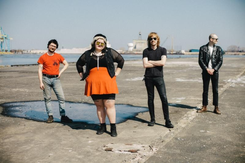 Sheer Mag will perform at Off Broadway on Wednesday, May 6. - VIA GROUND CONTROL TOURING