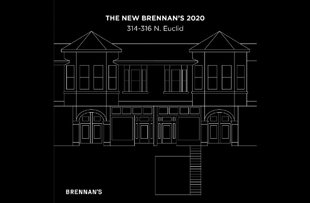 Renderings of Brennan's new home in the Central West End. - COURTESY BRENNAN'S
