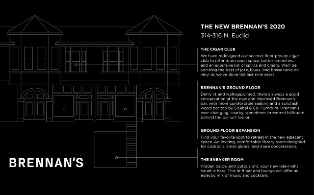 Another rendering of Brennan's new home in the Central West End. - COURTESY BRENNAN'S