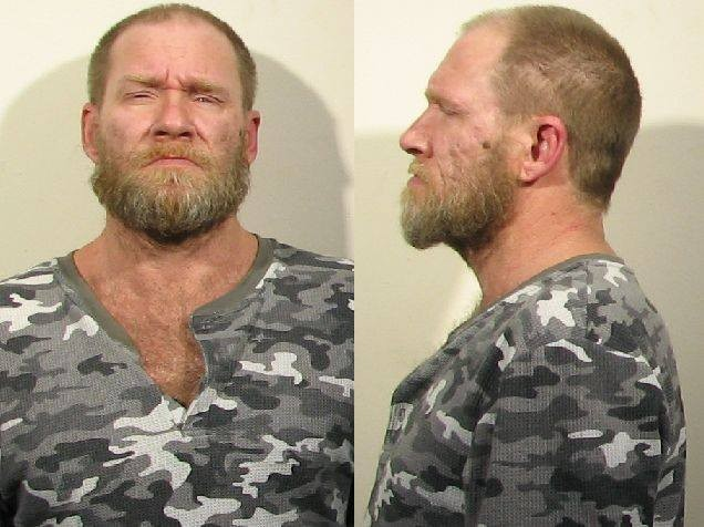 The mugshot of Randy Johnson. - MADISON POLICE DEPARTMENT.