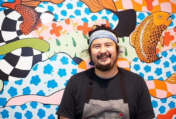 Indo chef-owner Nick Bognar. - MABEL SUEN