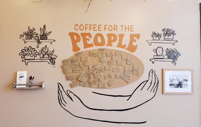 Mueller wants Coffee for the People to be what Rise is known for. - KRISTEN FARRAH