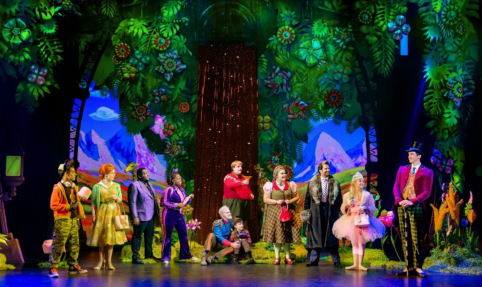The new musical version of Charlie and the Chocolate Factory opens at the Fox on Tuesday. - JEREMY DANIEL