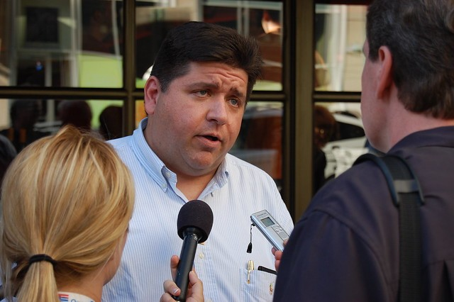Illinois Governor J.B. Pritzker. - FLICKR/ CHICAGOPUBLICMEDIA