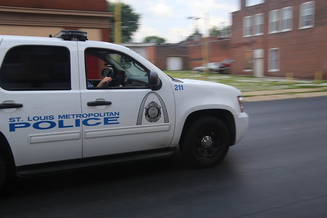 St. Louis police supervisors told traffic officers to continue making routine stops, despite safety concerns, a union says. - FLICKR/PAUL SABLEMAN