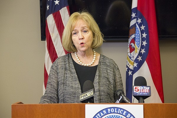 Mayor Lyda Krewson made the announcement Monday, after a viral video appeared to show a popular St. Louis bar flouting health guidelines. - DANNY WICENTOWSKI