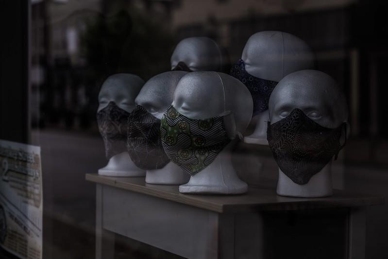 Mask up. - PAUL SABLEMAN / FLICKR