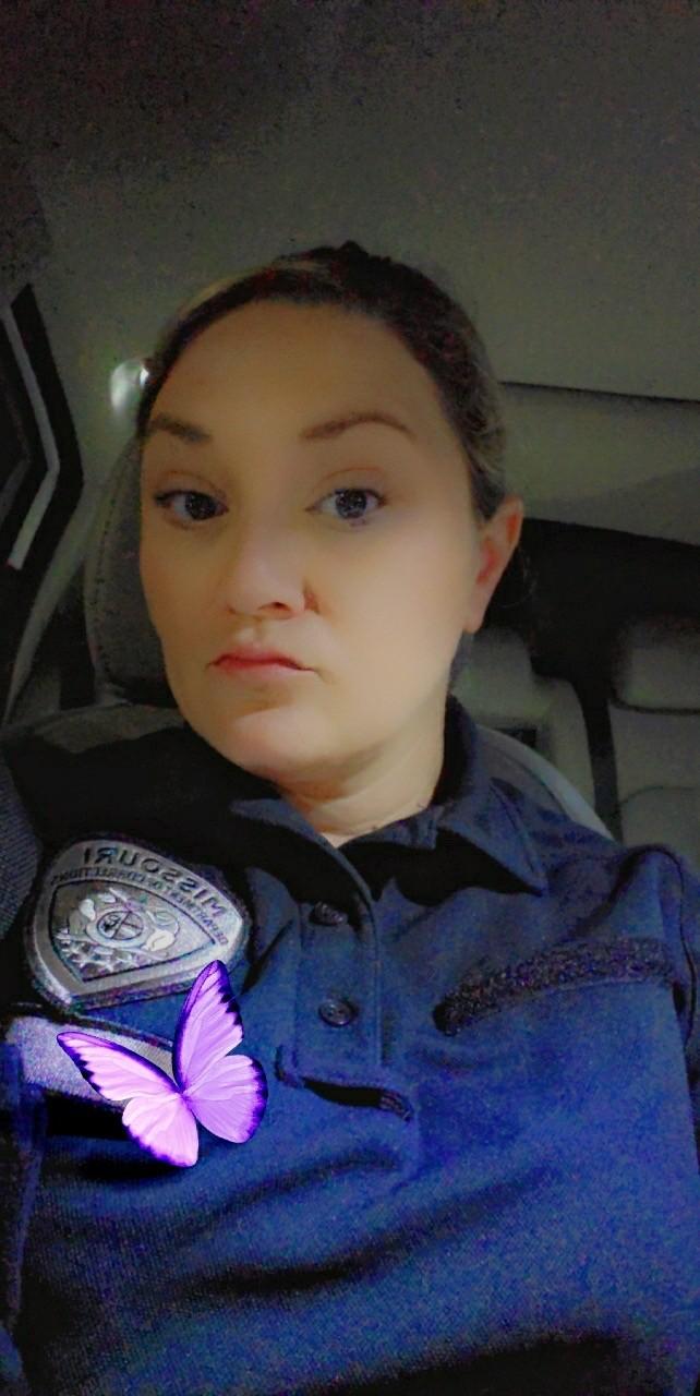 April Hudgens left her job as a corrections officer after six years. - APRIL HUDGENS