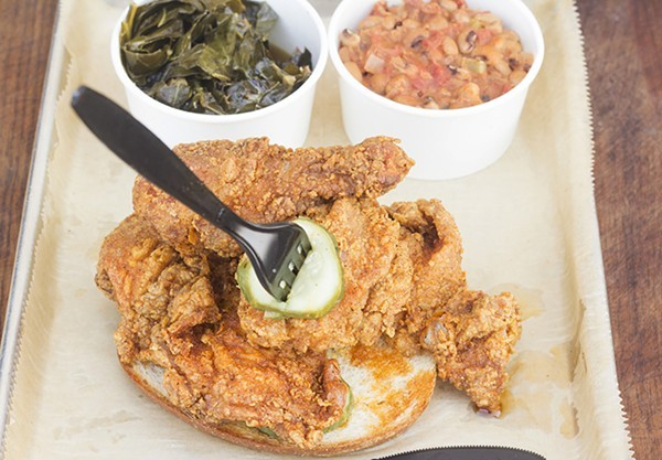 Get Southern's hot chicken while you can. The restaurant, along with Bogart's Smokehouse, will be closed until next year due to the COVID-19 pandemic. - MABEL SUEN