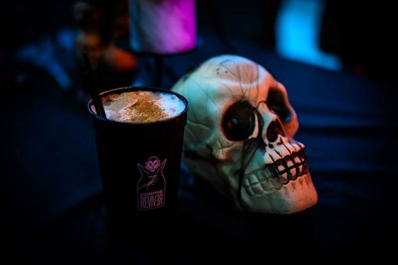 You can get your spooky libations for her or to-go at Yellowbelly's Corpse Reviver pop-up. - WE EAT STUFF
