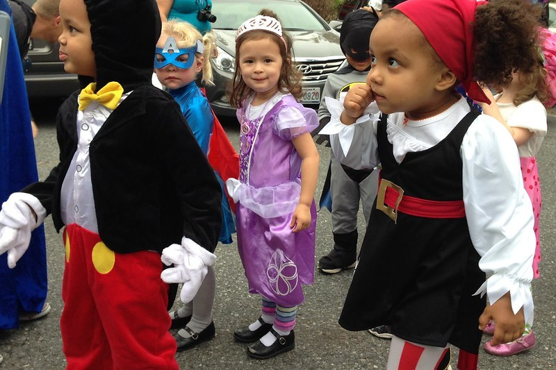 The costume parade is the perfect place to let your little pirates and princesses show off their fancy duds. - GREG ROBLETO / FLICKR