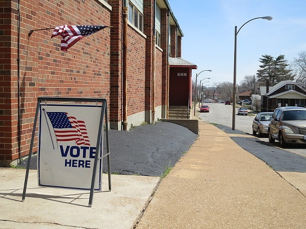 Avoiding a line at your polling place in St. Louis County is easy. - PAUL SABLEMAN / FLICKR