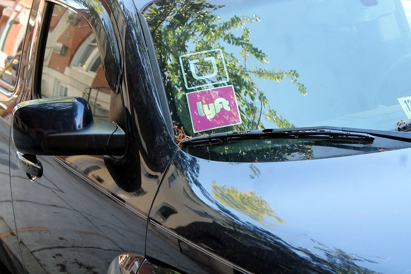 Uber and Lyft are offering sweet discounts on Election Day. - ELVERT BARNES / FLICKR