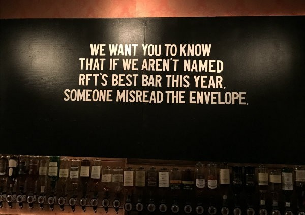 """RFT may have to create a new category for """"Best Bar, Worst Luck"""" just for Brennan's. - CHRIS KEATING"""