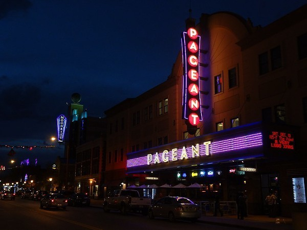 The Pageant's owners don't expect to reopen until late February at the very earliest. - VIA FLICKR/PAUL SABLEMAN