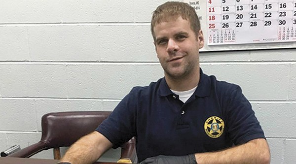 Cory Hutcheson. - VIA MISSISSIPI COUNTY SHERIFF'S FACEBOOK