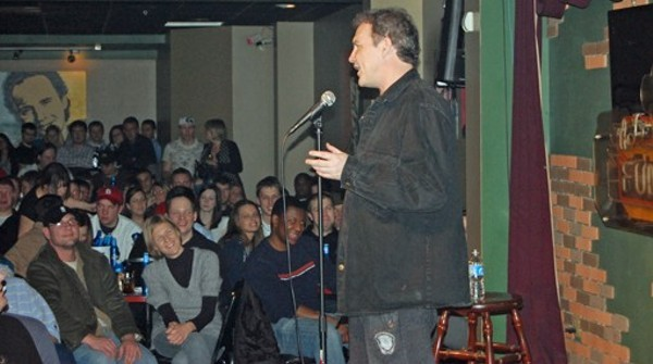 Norm MacDonald performs for a packed house at the Funny Bone back in 2010. - MATTHEW JACKSON