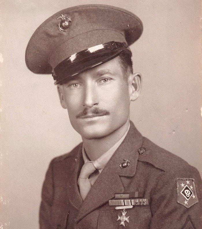 Uncle Olan as a young soldier before his injury. - COURTESY DR. TIFFANY OSBORN