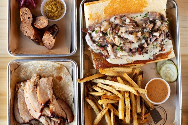 BEAST Butcher & Block will begin serving its famous barbecue again today at its Grove smokehouse. - MABEL SUEN