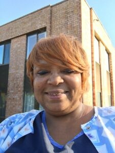 Shunda Whitfield, a certified nursing assistant at a St. Louis County nursing home, had to wrestle with questions before she decided to get a COVID vaccine dose. - COURTESY SHUNDA WHITFIELD